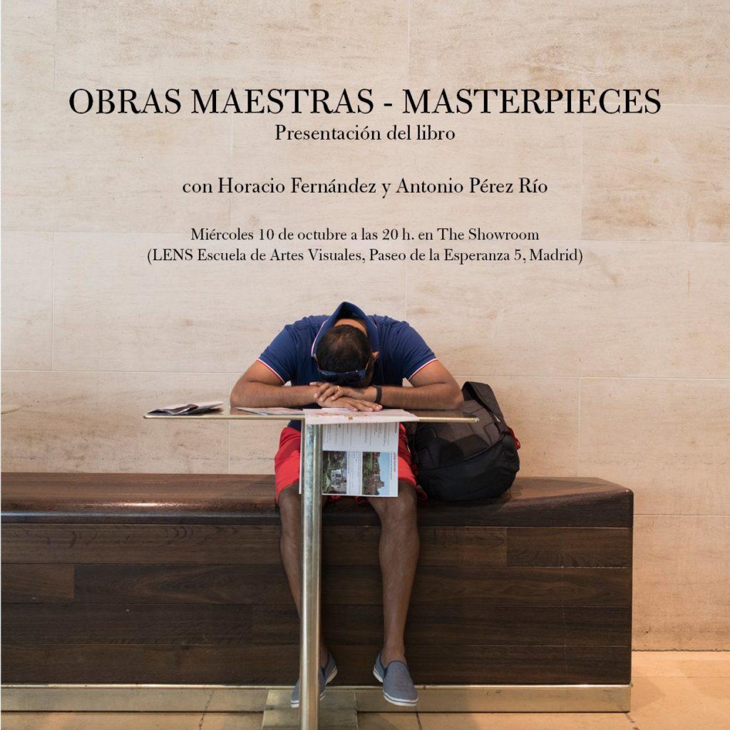 Presentación del libro Obras Maestras en Madrid