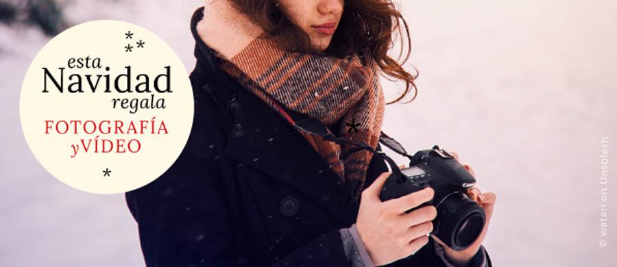 Regala un curso de fotografía o vídeo en Madrid